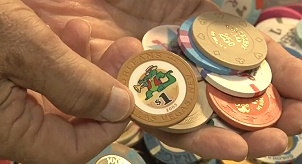 Casino Chips Continue to Grow in Popularity with Collectors. VIDEO: 4:00