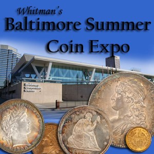 dd pr balt  A Coin Show report for the Whitman Summer Baltimore Expo 2014