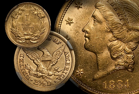 10 Undervalued, Affordable US Gold Coins from the Old West