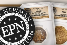 epnv 275x185 NGC Grades Eric Newman Collection Part V