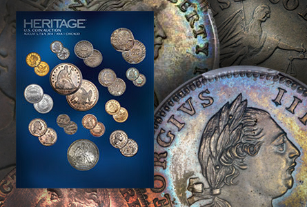 haanaauction 18th Century Treasures Highlight Heritage ANA Auctions