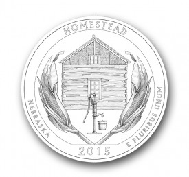 homestead25 275x258 U.S. Mint Offers First Look at 2015 America the Beautiful Quarters® Designs