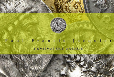 Ancient Coin Auction News: Superb Rarities in Jacquier Auction Sale 39