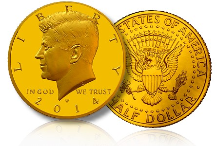 kennedy gold half The Coin Analyst: Minting to Demand of JFK Gold Coins Raises Problems