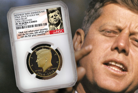 Kennedy Anniversary Commemorative News: NGC Labels Announced