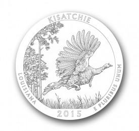 kisatchie25 275x258 U.S. Mint Offers First Look at 2015 America the Beautiful Quarters® Designs
