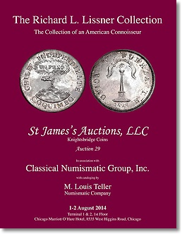 lissner cat NGC certified Lissner World Coin Collection to Be Sold at ANA