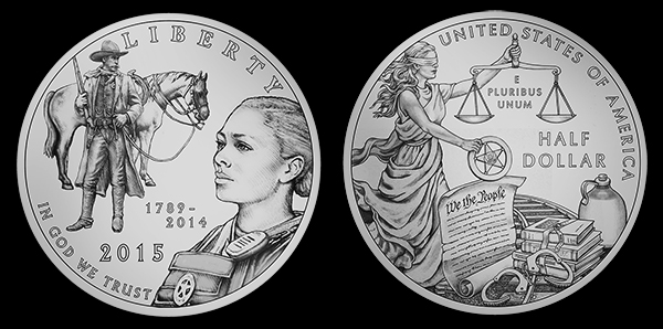 marshallhalflo Designs Selected for 2015 Marshals Commemorative Coin Program