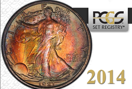 PCGS Announces 2014 PCGS Set Registry Award Winners; Three Hall of Fame Sets