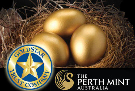 Goldstar Trust Now Providing Self-Directed IRA Custodial Services for Perth Mint Certificates