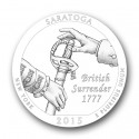 saratoga25 125x125 U.S. Mint Offers First Look at 2015 America the Beautiful Quarters® Designs