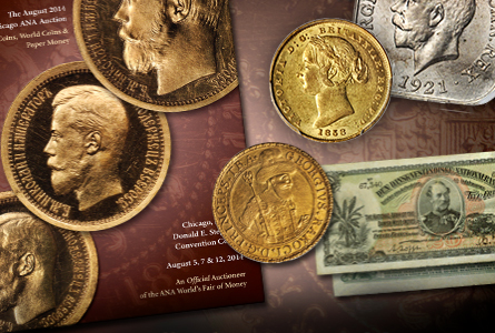 Stack's Offers Thousands of Rare World Coins at Official ANA World's Fair of Money Auction