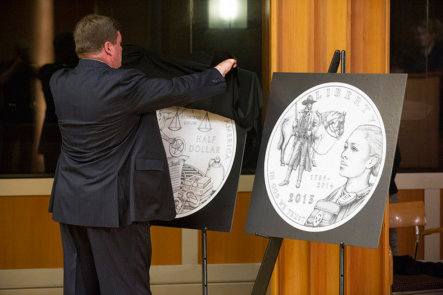 usmarshalsceremony5 U.S. Marshals Commemorative Coin Program Unveiling (Photo Gallery)