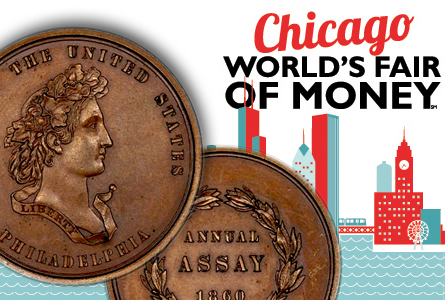 Important Assay Medal and Worst Morgan Dollar Sets to be Displayed at ANA World's Fair of Money