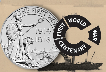 The Royal Mint Unveils New First World War Commemorative  £20 Coin