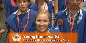 Young Numismatists Volunteer as Pages at FUN Summer Coin Convention. VIDEO: 2:32