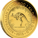 01 2015 AusKangaroo Gold 1kilo Bullion OnEdge LowRes 125x125 Perth Mint Unveils Australian 2015 Bullion Coin Program (with Video)