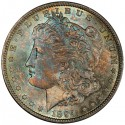 06666372 obv 125x125 Sunnywood Collection of Toned Morgans to Headline October Regency Auction IX