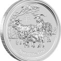 13 2015 YearOfTheGoat Silver Bullion Coin OnEdge LowRes 125x125 Perth Mint Unveils Australian 2015 Bullion Coin Program (with Video)