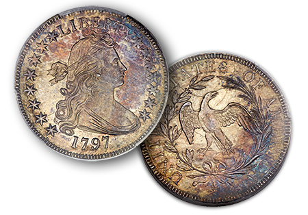 1797halfdollar Million Dollar Coins in ANA Auctions, part 2, with interpretation of Specimen designations