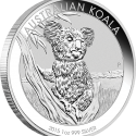 33 2015 AusKoala Silver 1oz Bullion OnEdge LowRes 125x125 Perth Mint Unveils Australian 2015 Bullion Coin Program (with Video)