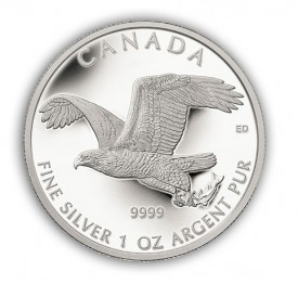 baldeagle 275x262 The Coin Analyst: Modern World Coin Round Up for August