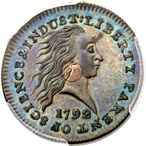 gr mills 1792 Million Dollar Coins in ANA Auctions ....Part 1