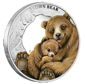 perth bear2 Five New Perth Mint Coin Releases for August 2014