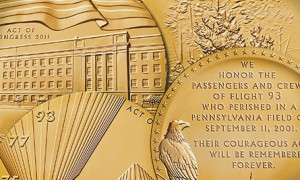 Congressional Gold Medals Awarded to the Fallen Heroes of September 11, 2001