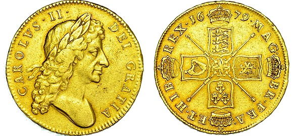 HENRY VIII SOVEREIGN [1544-7] mm. S SOUTHWARK MINT.