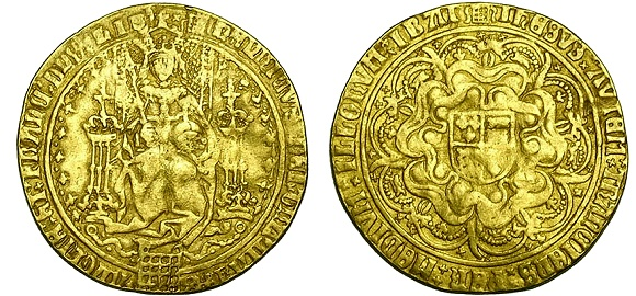 CHARLES II 1679 FIVE GUINEAS, SECOND BUST