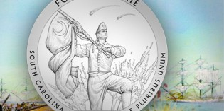 U.S. Mint:  2016 Fort Moultrie National Park Coin Design Candidates
