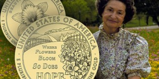 U.S. Mint News: Lady Bird Johnson Gold First Spouse Coin Designs