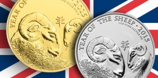 The Royal Mint releases Lunar Year of the Sheep 2015 UK One Ounce Bullion Coins on 12 September, 2014