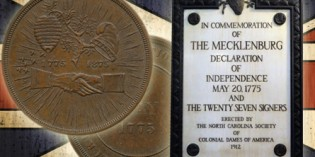 The Mecklenburg Declaration of Independence Centennial Medal