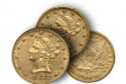 Rare Gold Coins under $5000 each, Part 5: 'With Motto' Liberty Eagles ($10 Gold Pieces)