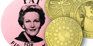 U.S. Mint News: Patricia Nixon Gold Coin Design Candidates Revealed