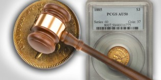 Rare Gold Coins under $5000 each, Part 6: Three Dollar Gold Coins