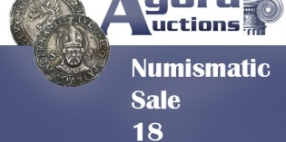 Numismatic Sale #18 – Agora Auctions Now Live