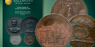 "Baldwin's Auction 92 featured Tokens from the ""Baldwin's Basement"""