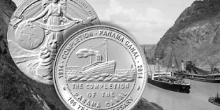 Panama Canal 100 Year Anniversary Medals