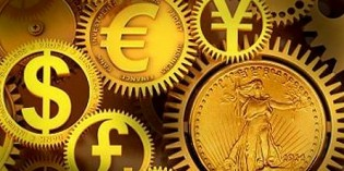 Gold Turns Lower against a Stronger Dollar and Continued Profit Taking