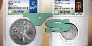 NGC Snags MLB License for Coin Label Inserts