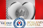 Rosland Capital Debuts Special Maple Leaf Silver Coin for Charity