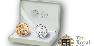 The Royal Mint's Wedding Gold and Silver Coin Set –  capturing the essence of a wedding tradition dating from 1549