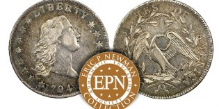 1794 Silver Dollar Tops Fifth Newman Coin Collection Sale