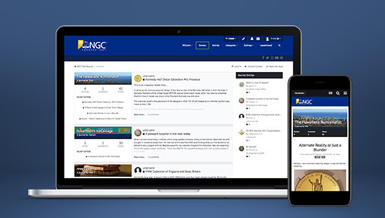 New chat boards and journals from NGC