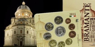 Italy Offers 2014 Mint Set with Donato Bramante Silver € 5 Coin