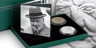 The Royal Mint releases the Winston Churchill Memorial Two Coin Set