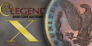 Legend Rare Coin Auctions to Offer The Sunset Hill Collection of Proof Morgan Dollars